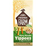 Supreme Petfoods Harry Hamster Yippees with Apple and Sweetcorn, 120 g, Pack of 8