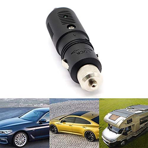 LanLan 12V / 24V 5A Allume-Cigare Prise d'alimentation Adaptateur de Courant continu connecteur Chargeur avec fusible Vert LED Accessoire de Voiture