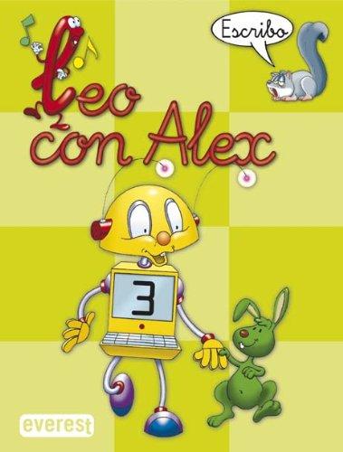 Leo con Álex 3. Escribo (Leo con Alex) - 9788424182649
