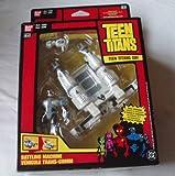 Teen Titans Battling Machine Cyborg And Blendride