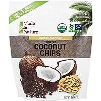 Made in Nature - biologico tostato Espresso Italiano di cocco Chips - 3 oz.