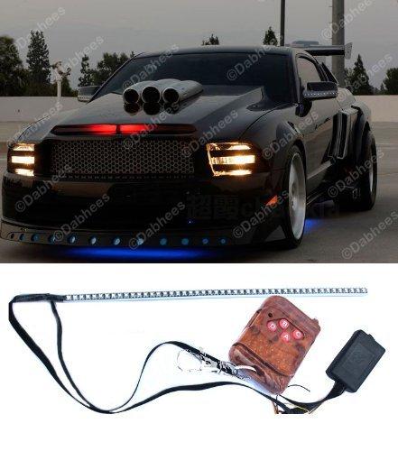 48LED Auto Knight Lauflicht Scanner Strip Streifen Rot