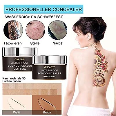 Tattoo Concealer für Körper