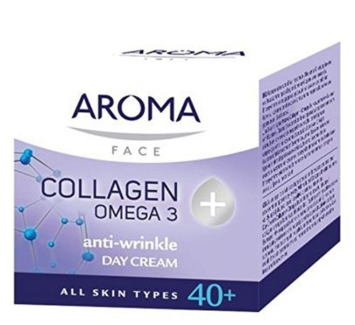 Aroma Day Cream Collagen + Omega 3 by Aroma
