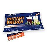 GoMo ENERGY Boisson énergisante rafraîchissante | Effet double: Détendu avant de dormir et frais après le lever | Boisson énergétique végane sans sucre | Duo Pack 2x10 portions