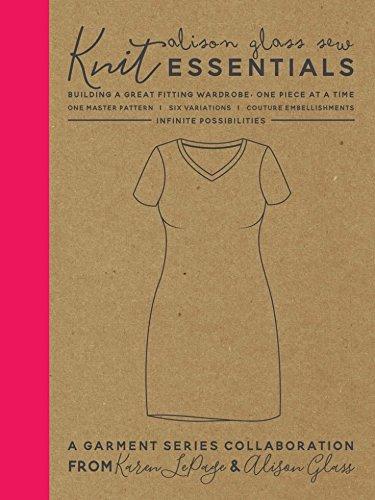Alison Glas Damen Einfach Schnittmuster Knit Essentials (Essential Knit Kleid)