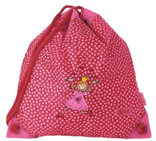 Imagen principal de Sigikid 23063 Pinky Queeny - Mochila de deporte infantil con diseño de princesa, color rojo