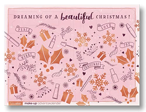 "Make-Up Adventskalender""BEAUTIFUL X-MAS\"" 2018, youstar, 24 hochwertige Produkte, Geschenkset"
