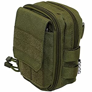 51o62PE0w3L. SS300  - LefRight Multipurpose Tactical Molle Utility Pouch Waist Bag Holster Combo Detachable Quick Release Strap