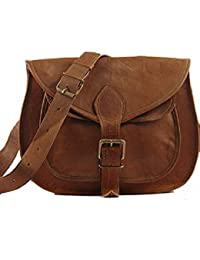 IHandikart Handmade Leather Bag|Messenger Bag|Hand Bag |Leptop Bag |Office Bag 16x12x4 Inch