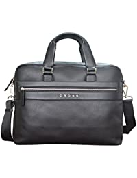CROSS Nueva FV Men's Slim Briefcase with Free Cross Agenda Pen