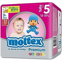 Moltex Premium Bolsa de Pañales Desechables - 22 Pañales