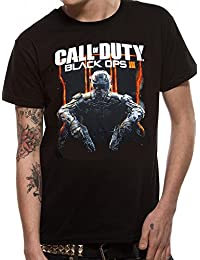 Official Call of Duty - Black Ops III - Cover Art - T Shirt in Black