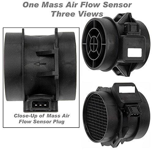 APDTY 028962 Mass Air Flow Sensor Meter Fits 2.5L or 2.7L On 2001-2006 Hyundai Santa Fe 2000-2005 Sonata 2003-2008 Tiburon 2005-2009 Tucson 2001-2005 Kia Optima 2005-2010 Kia Sportage (28164-37200) by