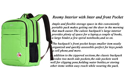 Binlion Taikes Daily Backpack with Lap Top Layer Green18