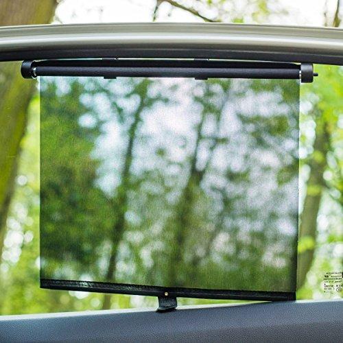 2x Auto Sonnenrollo / Sonnenschutzrollo