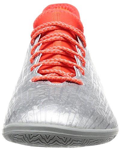 adidas X 16.3 In, Chaussures de Foot Homme Plata (Plamet / Negbas / Rojsol)