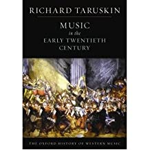 [(The Oxford History of Western Music: Music in the Early Twentieth Century)] [Author: Richard Taruskin] published on (August, 2009)