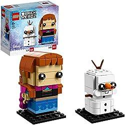 Brickheadz Anna e Olaf,, 41618