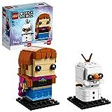 LEGO BrickHeadz - Anna e Olaf, Multicolore, 41618
