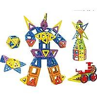 OOFAY Bloques De Construcción Magnéticos 68 Piezas Baldosas Magnéticas Toy Que Apilan Los Bloques para El Niño Todos Fuerte del Imán Mejor Regalo