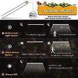 Motion Sensor Light, LOFTer 66LED Wireless 2400mAh Rechargeable Only Motion &Motion and Light Sensor Stick on Wardrobe Under Kitchen Cupboard Counter Cabinet Closet Shed Garage Night Lighting