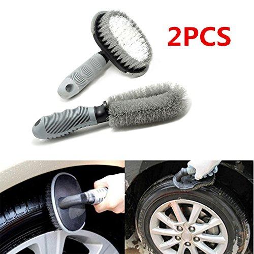 GFEU-aspirapolvere-Set-di-2-Professional-Auto-Cerchio-in-Lega-Auto-Spazzola-Pneumatico-per-Automotive-Moto-Bicicletta-Pneumatico-Steel-Washing-Tool