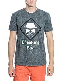 Breaking Bad Men's Printed Regular Fit T-Shirt