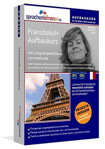 Preisvergleich Produktbild Sprachenlernen24.de Französisch-Aufbau-Sprachkurs: PC CD-ROM für Windows/Linux/Mac OS X + MP3-Audio-CD für MP3-Player. Französisch lernen für Fortgeschrittene