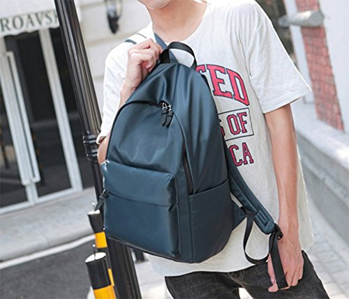 Ohmais Rücksack Rucksäcke Rucksack Backpack Daypack Schulranzen Schulrucksack Wanderrucksack Schultasche Rucksack für Schülerin marine