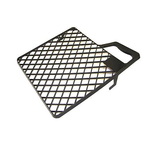 Bonum 935223 Abstreifgitter aus Kunststoff, schwarz, Industriequalität