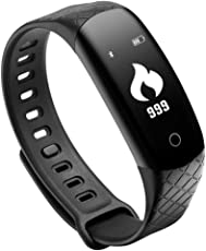 OPTA SB-041 All-in-One Bluetooth Fitnessband Smartwatch Activity Tracker with Blood Pressure,Heart Rate,MultiSport Mode,Sleep Monitor for Smartphones