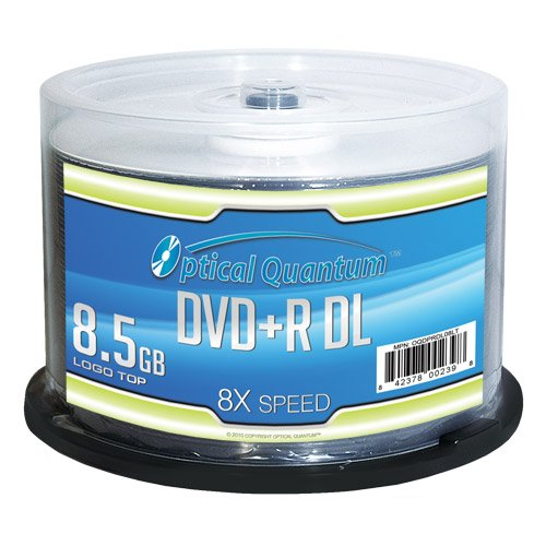 Optical Quantum OQDPRDL08LT-50 DVD en Blanco 8
