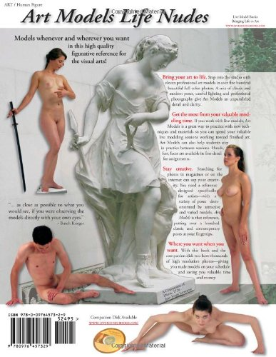 Art Models: Life Nudes for Drawing, Painting, and Sculpting
