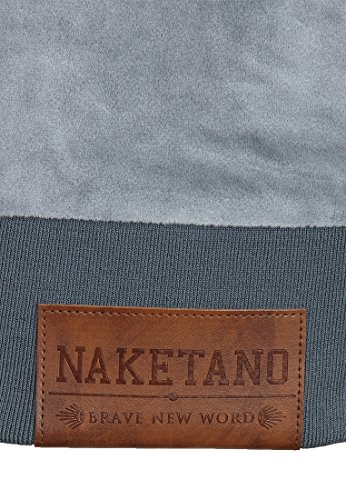 Naketano Male Zipped Jacket Ivic Mack IV Grey