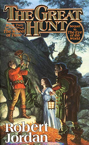 Cover of The Great Hunt (Wheel of Time 2)