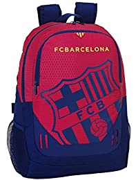 077060 F.C. Barcelona Mochila Tipo Casual, Color Azul y Granate