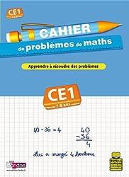 CAHIER PROBLEMES DE MATHS CE1