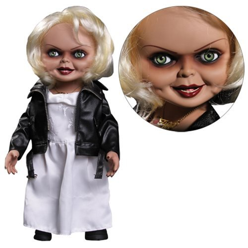 Unbekannt Chucky 78015Tiffany Talking Brautfigur; 38 cm - Chucky Overall Kostüm