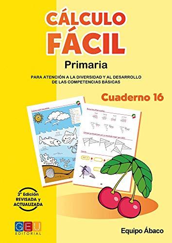 Cálculo Fácil - Cuaderno 16