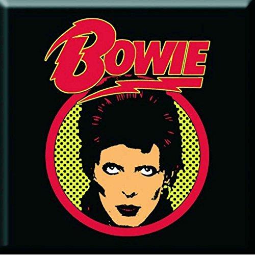 David Bowie Flash Logo Official Fridge ()