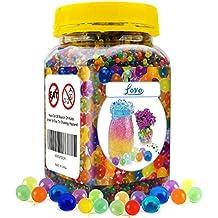 Perlas de agua, 55.000(14.1oz) cristal mágico expansión colorido agua bolas de recambio para Orbeez pie Spa, juego sensorial, planta boda decoración & al aire libre Jugar Juguetes