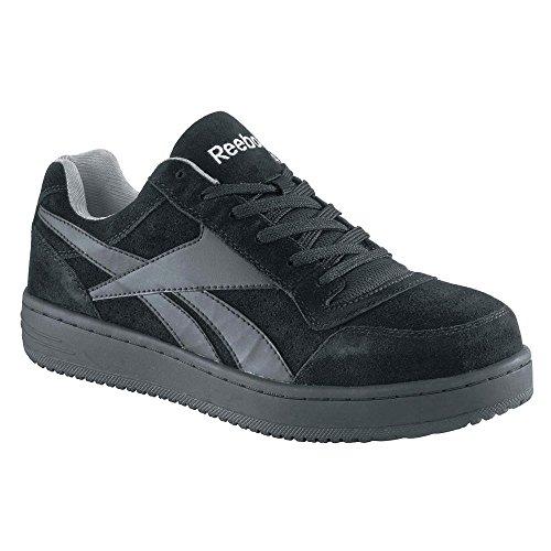 ATHL Arbeit Schuh, Stahlkappe, BLK, 9-1/2M, PR 9,5 M Schuhe