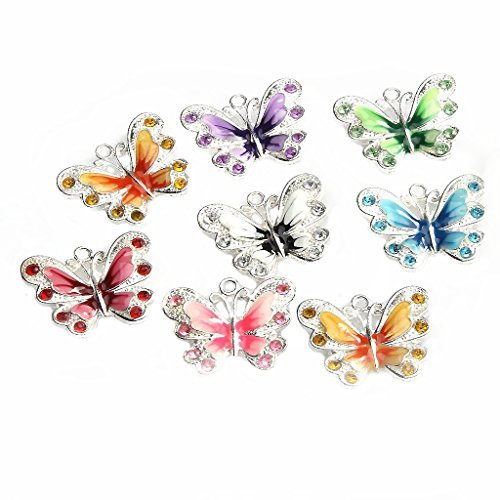 ilovediy-35x30mm-enamel-mixed-color-butterfly-pendant-charms-pack-of-10pcs