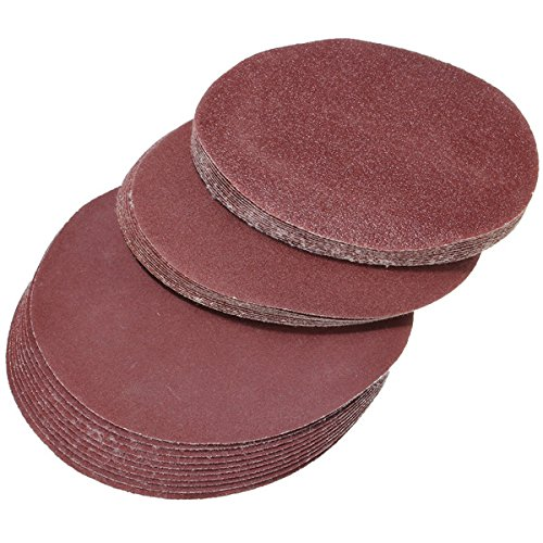 30pcs 6 inch 60-240 grit sanding discs self adhesive mixed Test