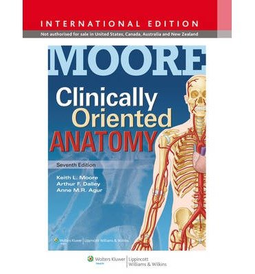 [(Clinically Oriented Anatomy)] [ By (author) Keith L. Moore, By (author) Anne M. R. Agur, By (author) Arthur F. Dalley ] [February, 2013]
