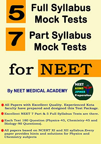 All India Mock Test Papers for NEET 2019 for Physics +