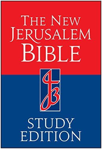 The New Jerusalem Bible, Study Edition (1994-03-01)