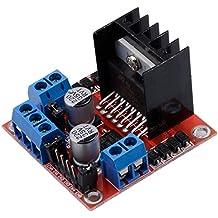 Muzoct L298N Motor Drive Controller Board Module Dual H Bridge DC Stepper per Arduino