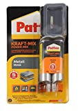 "Pattex 1475080 Colle à deux composants""Force Mix - Métal"", Noir/orange"
